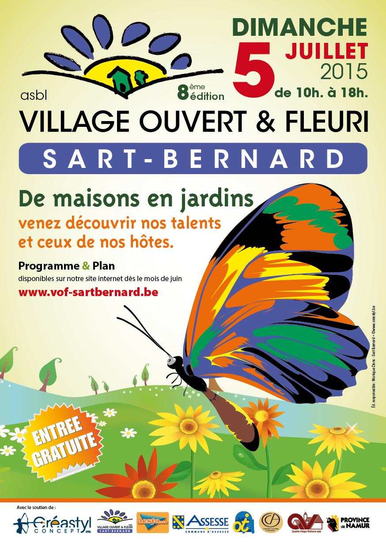 Village Ouvert & Fleuri ce 5 juillet